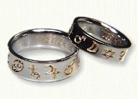 Astrology Wedding Rings