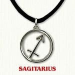 zodiac sagitarius pendant