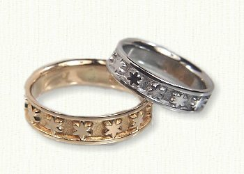 wedding rings image white ring gold star diamond eternity