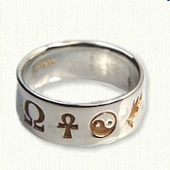 Symbolic Wedding Rings
